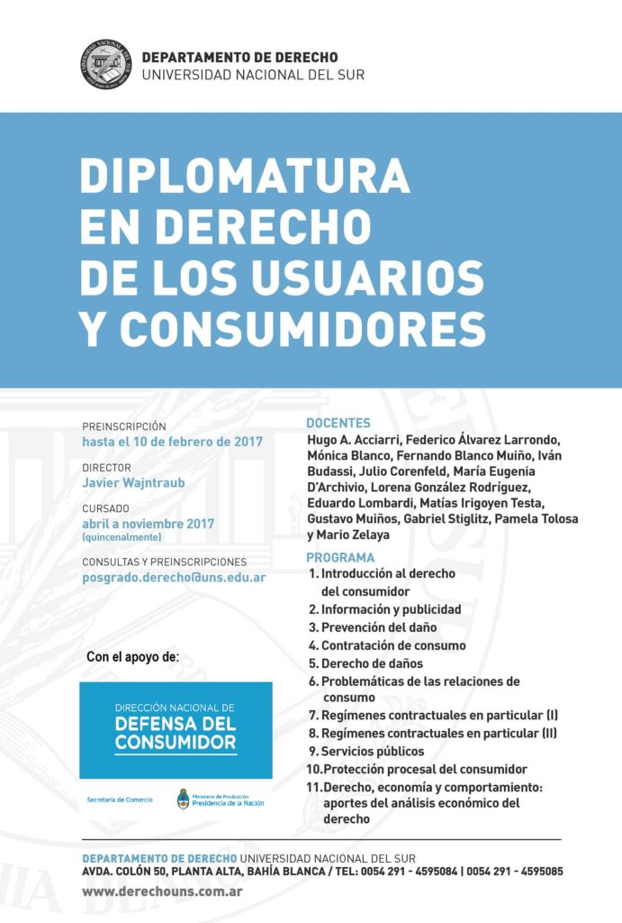 Diplomatura Consumidor