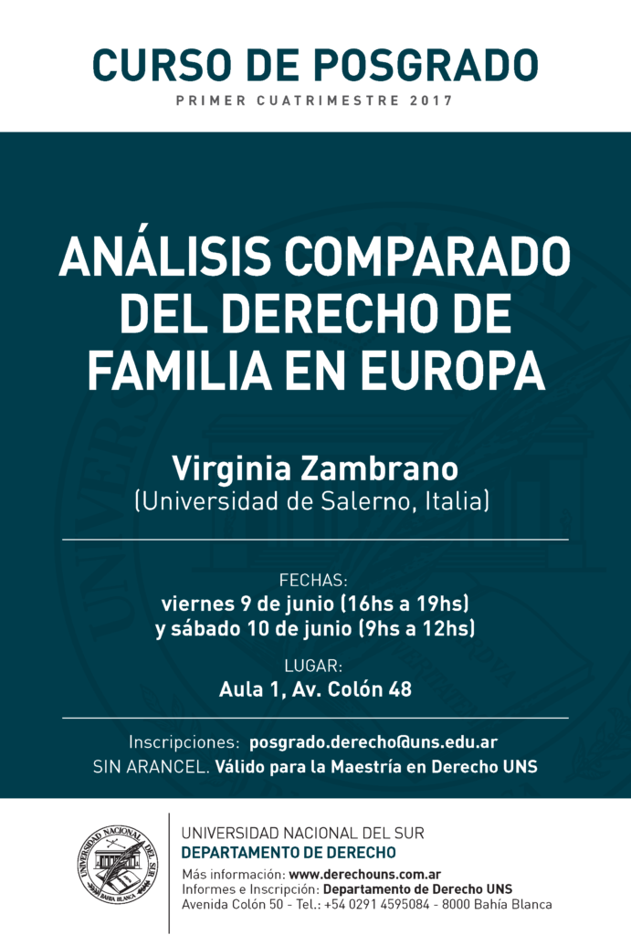 Posgrado-Familia-Analisis comparado