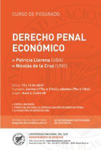 D. PENAL ECONOMICO