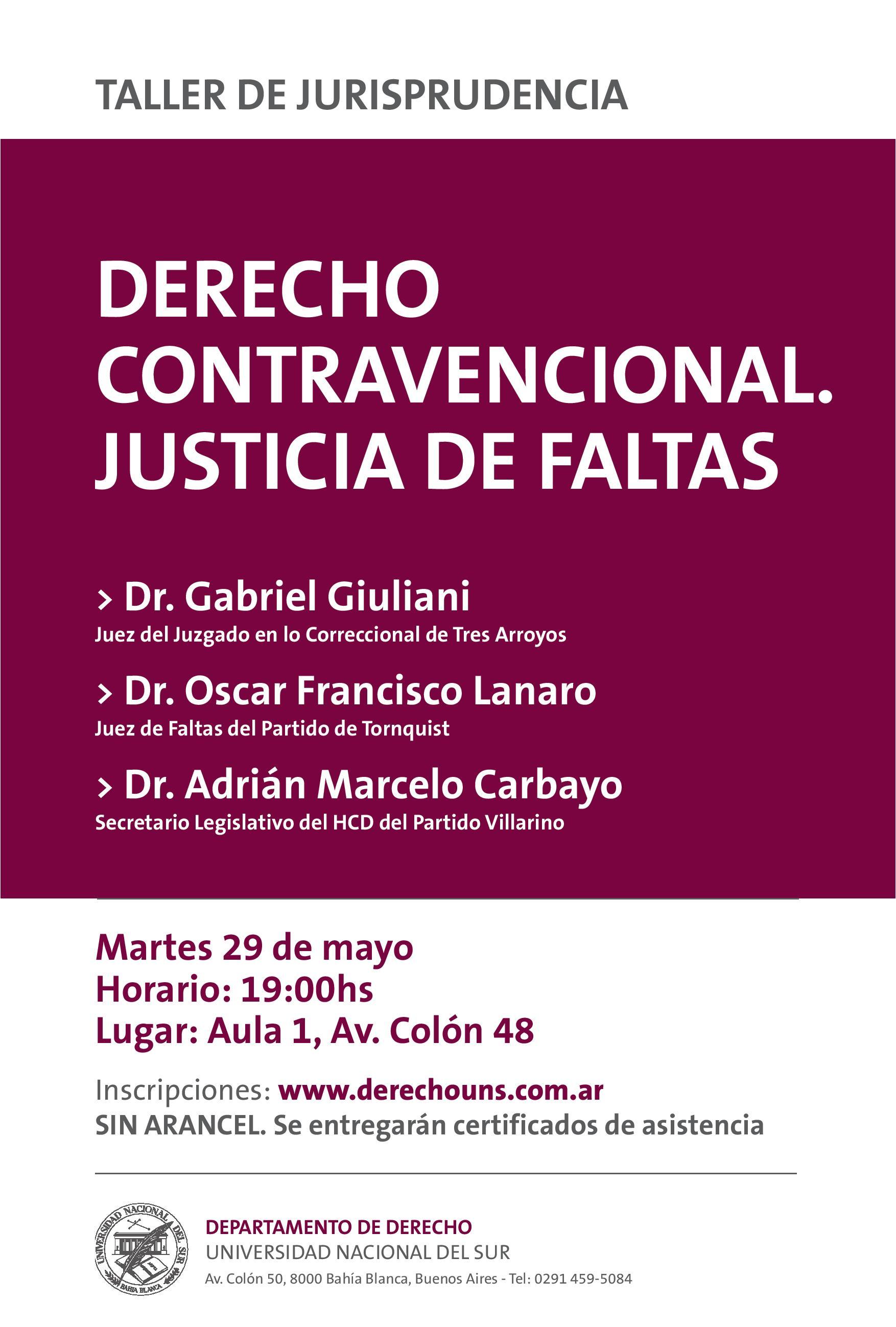 Taller-Derecho-Contravencional