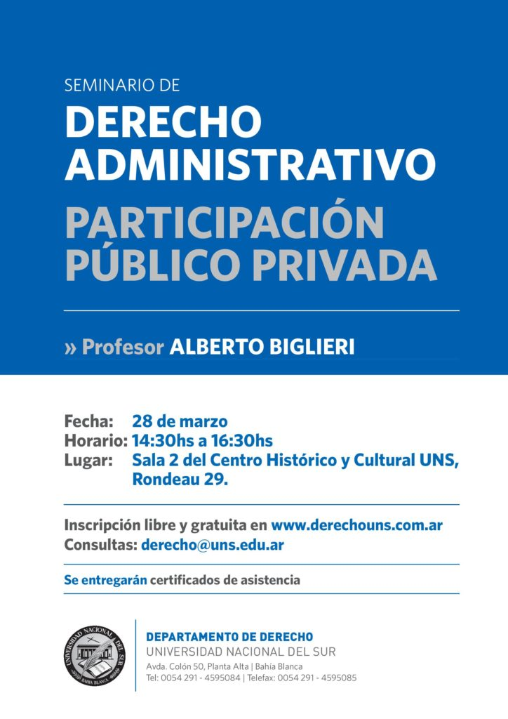 Seminario Derecho Administrativo - Biglieri