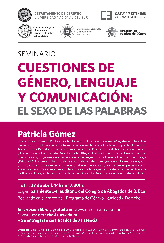 Genero y Derecho - Patricia Gomez