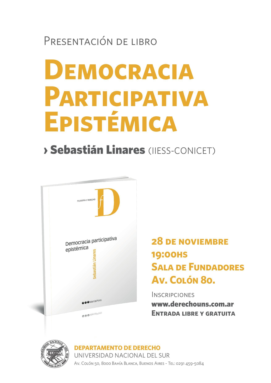 Linares - Democracia participativa epistémica