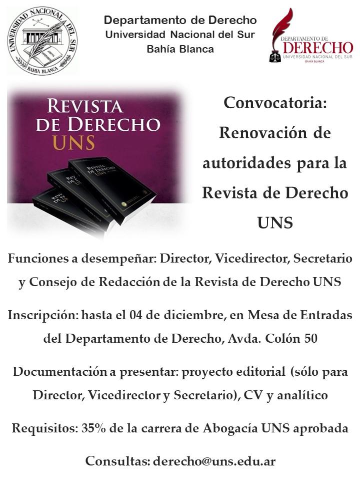 Convocatoria-Revista-Derecho-UNS-2017