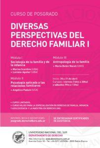 PERSPECTIVAS DERECHO FAMILIAR