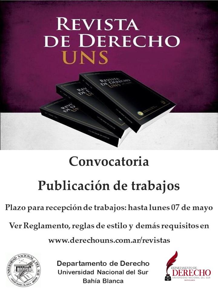 Convocatoria-Revista-Derecho-UNS-2018