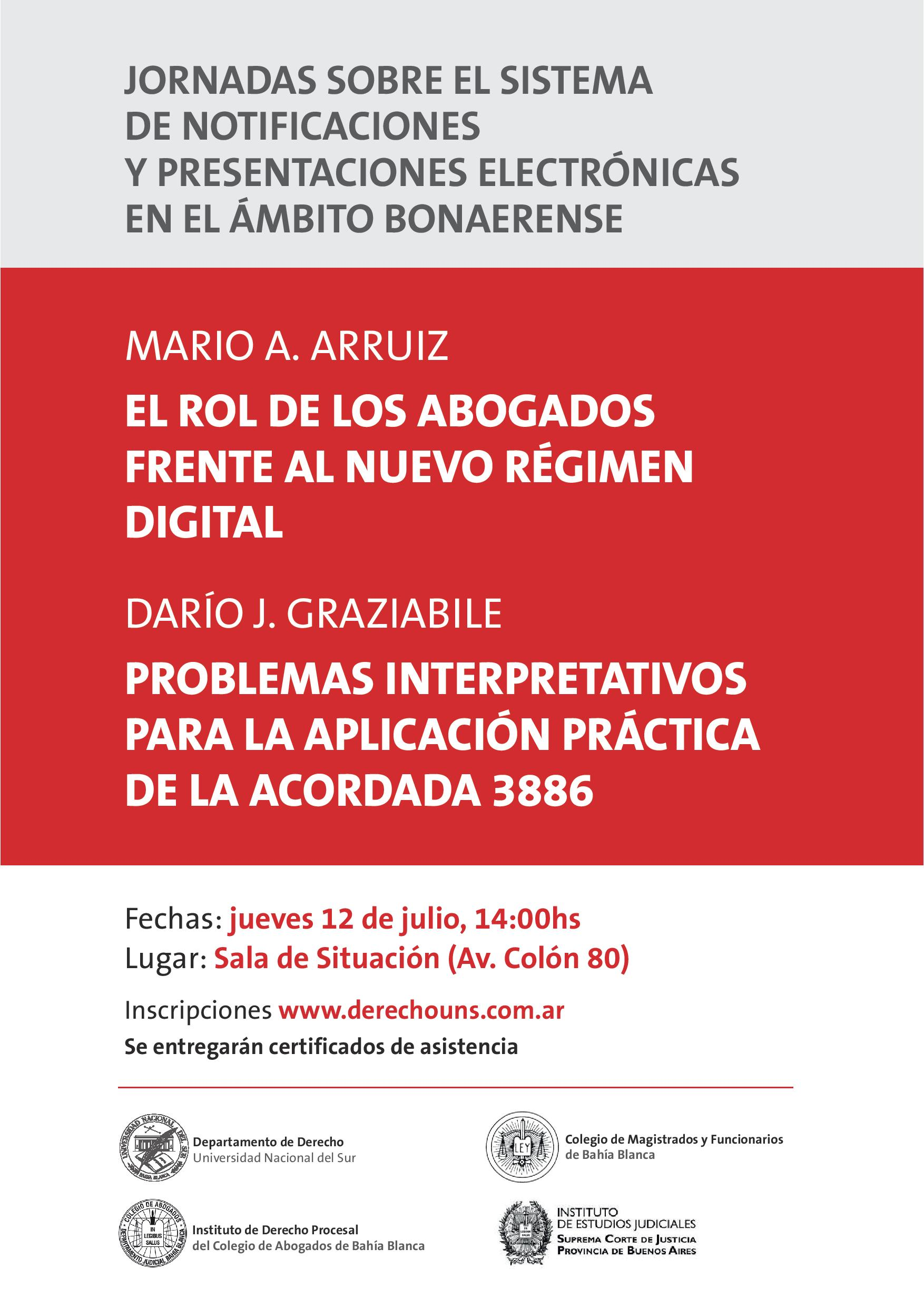 JORNADAS NOTIFICACIONES