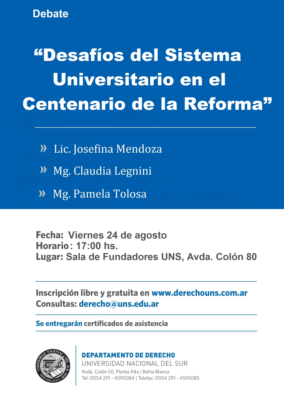 Debate-Desafios-Sistema-Universitario