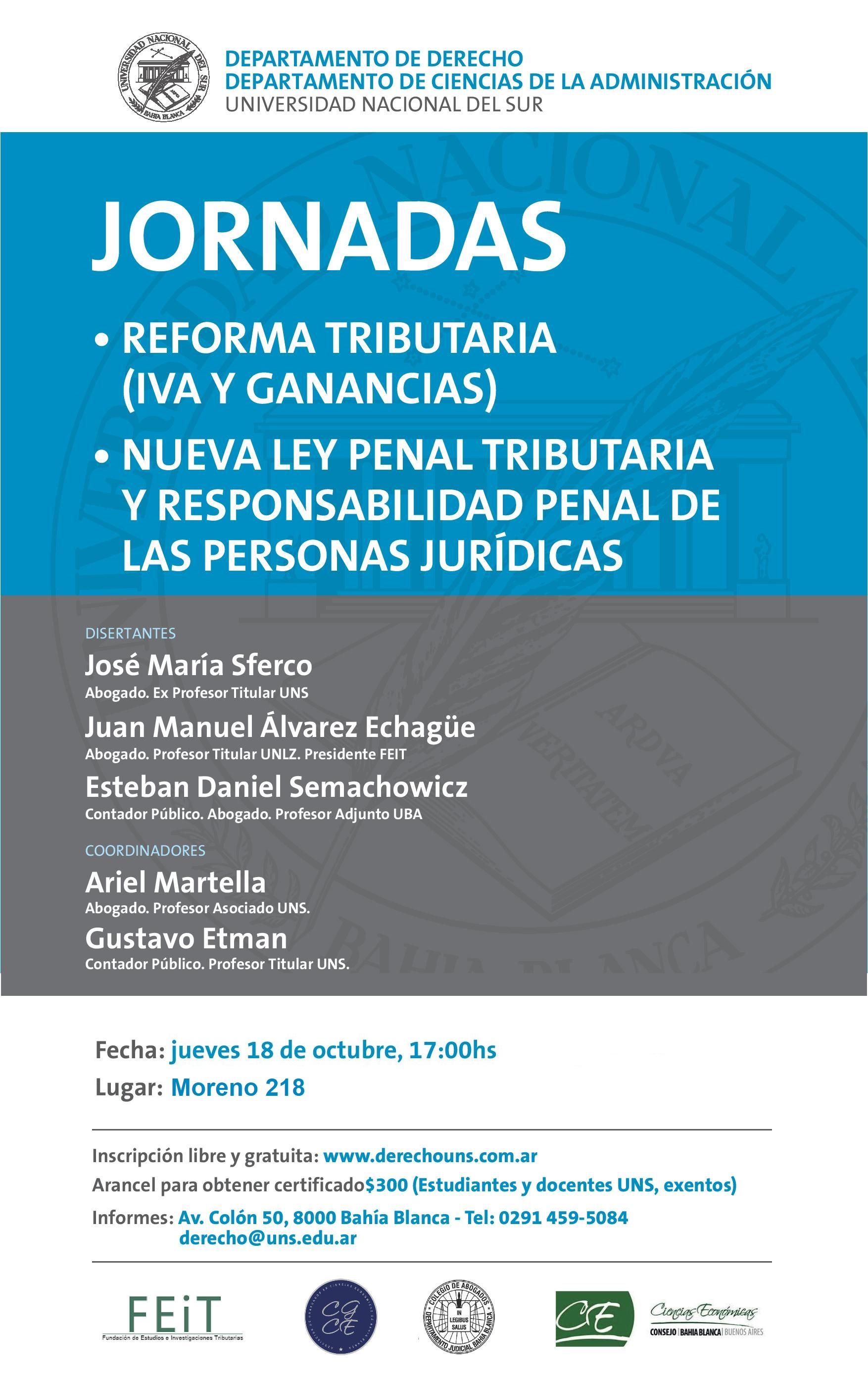 JORNADA REFORMA TRIBUTARIA