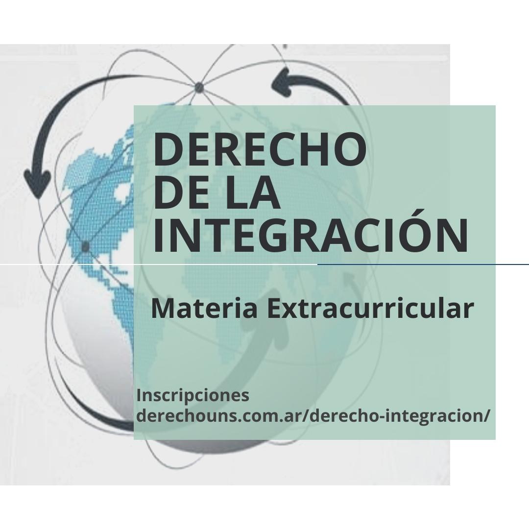 Derecho-Integracion