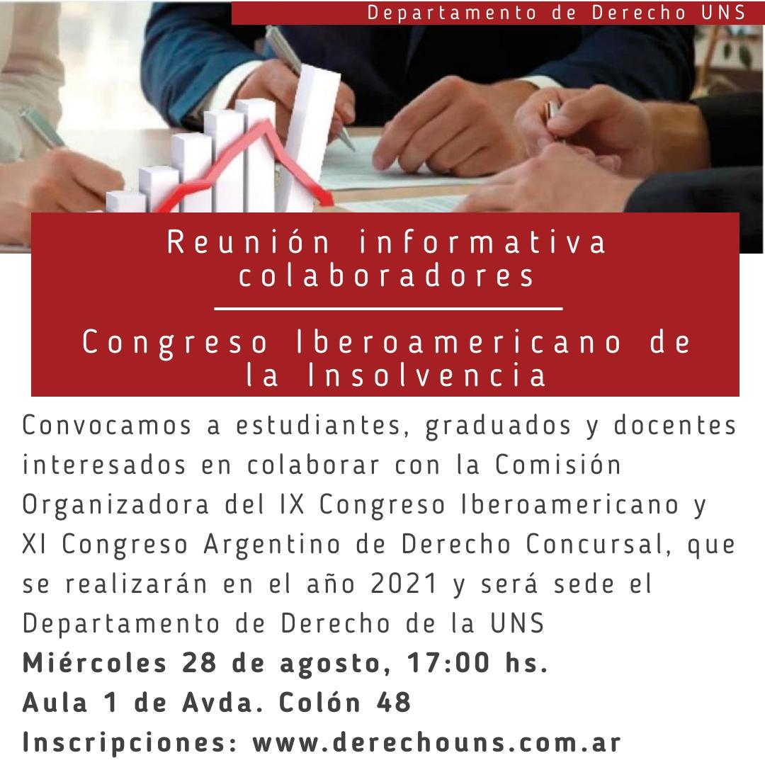 Reunión Congreso Insolvencia