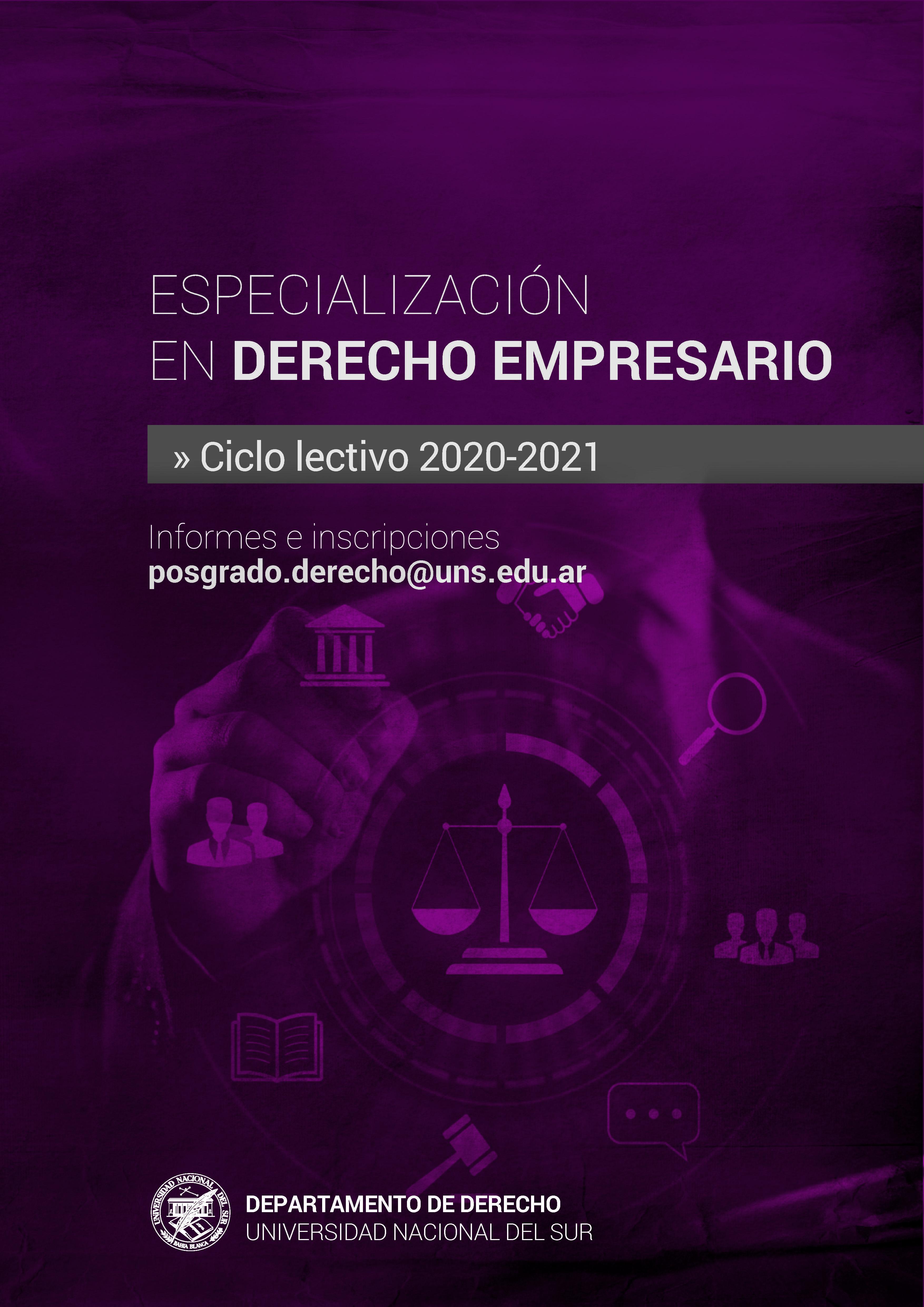 DERECHO EMPRESARIO2019