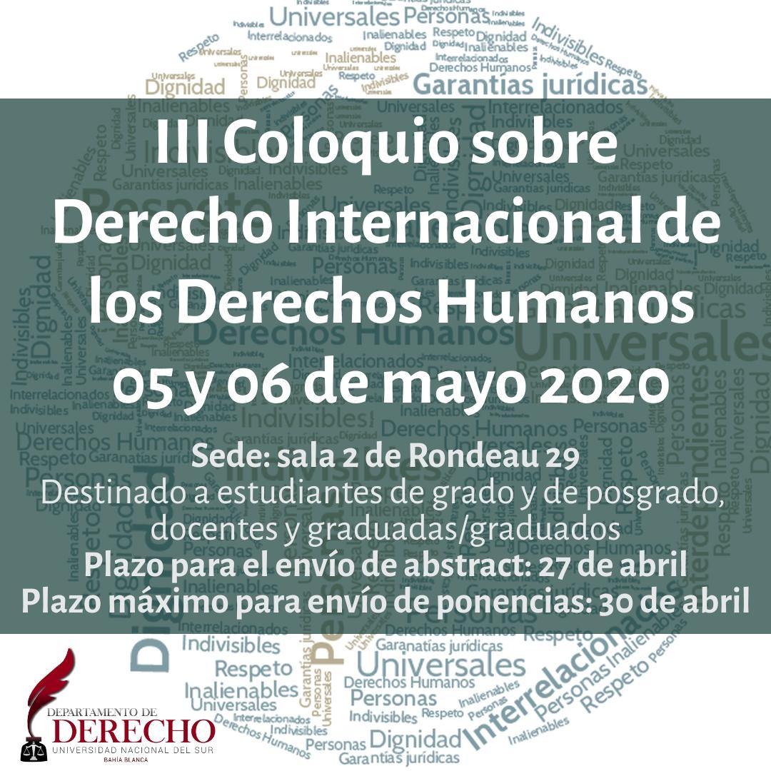 Coloquio DDHH 2020-01