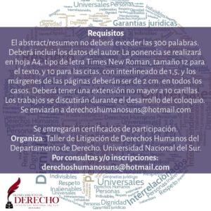 Coloquio DDHH 2020-03