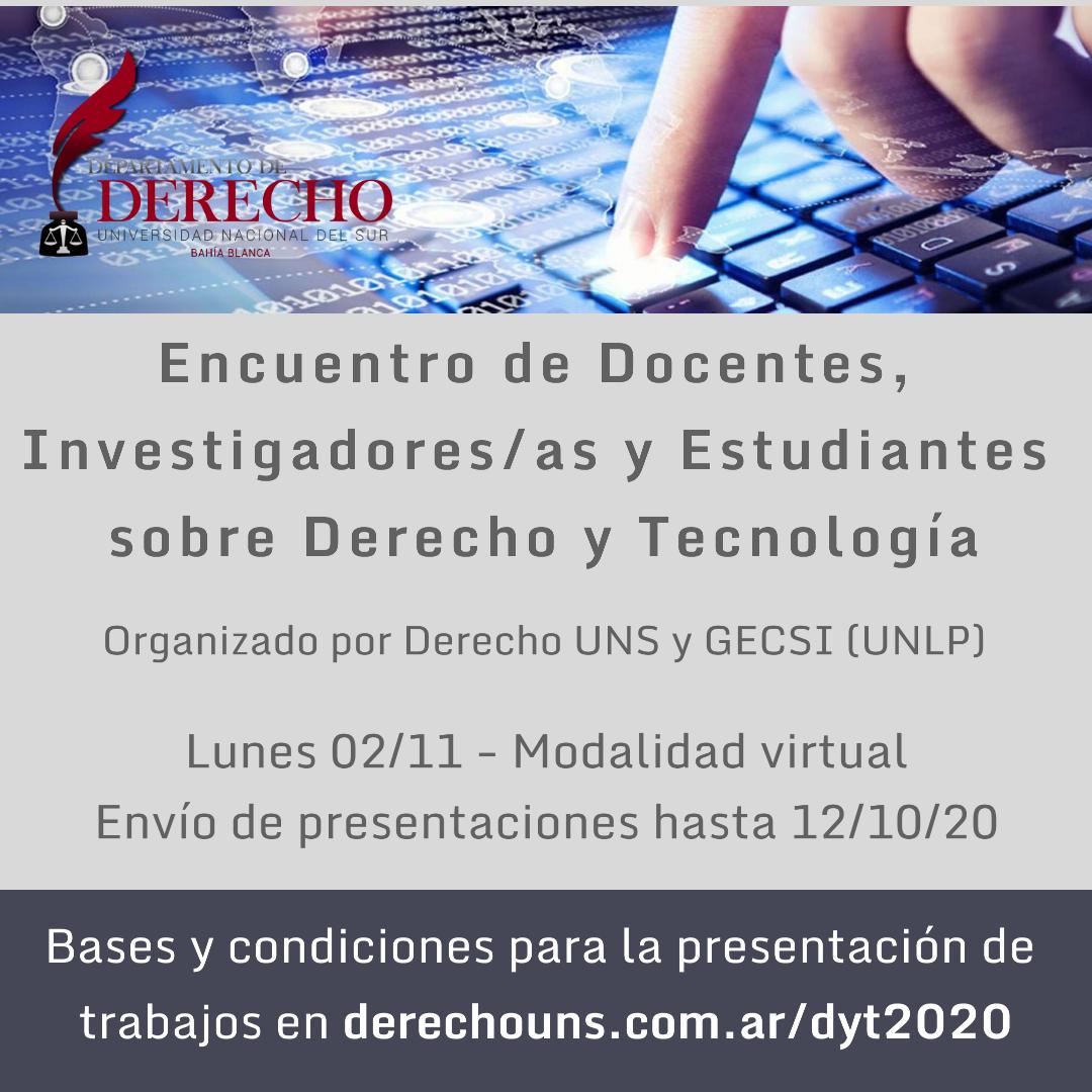 Encuentro Derecho & Tecnología
