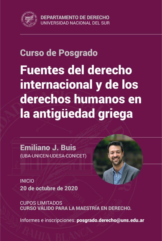 POSGRADO BUIS