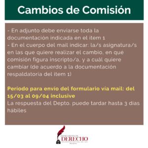 Cambio Comision 02
