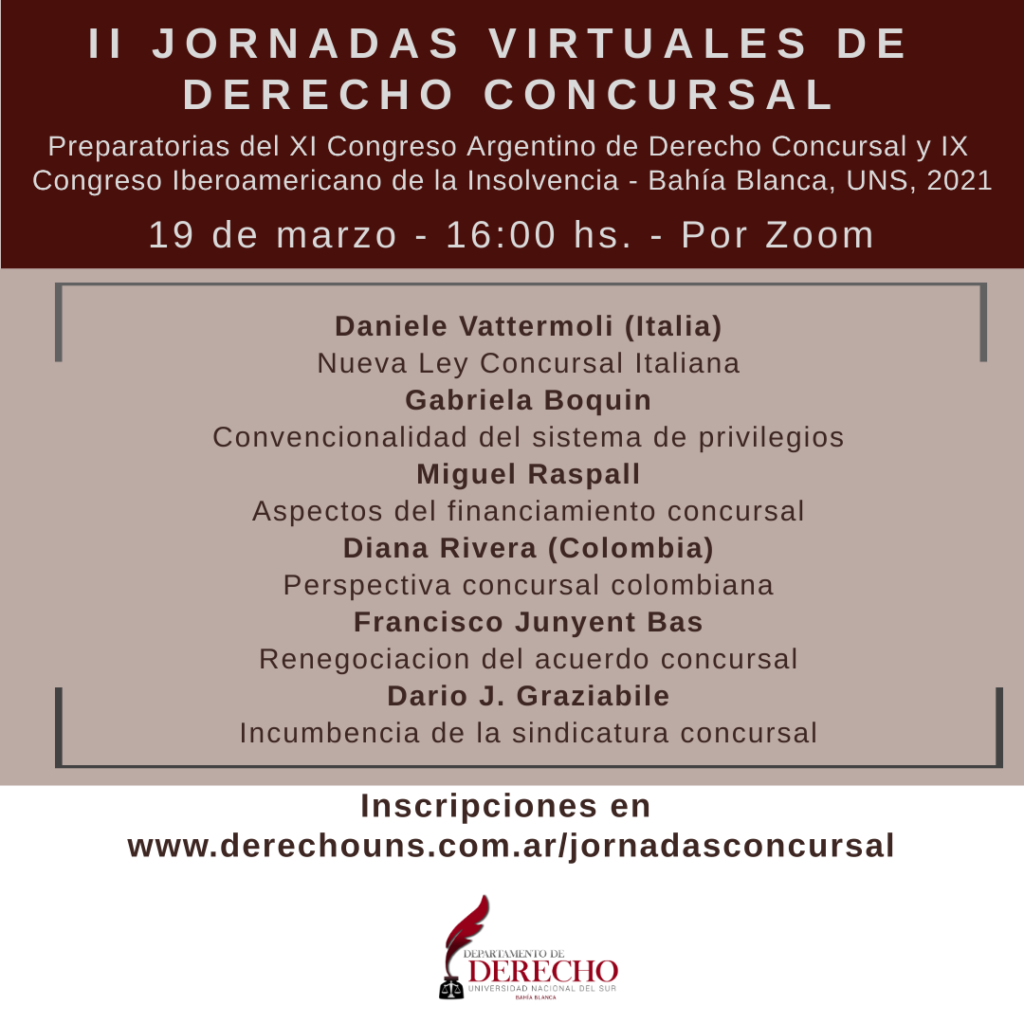 II Jornadas Concursal