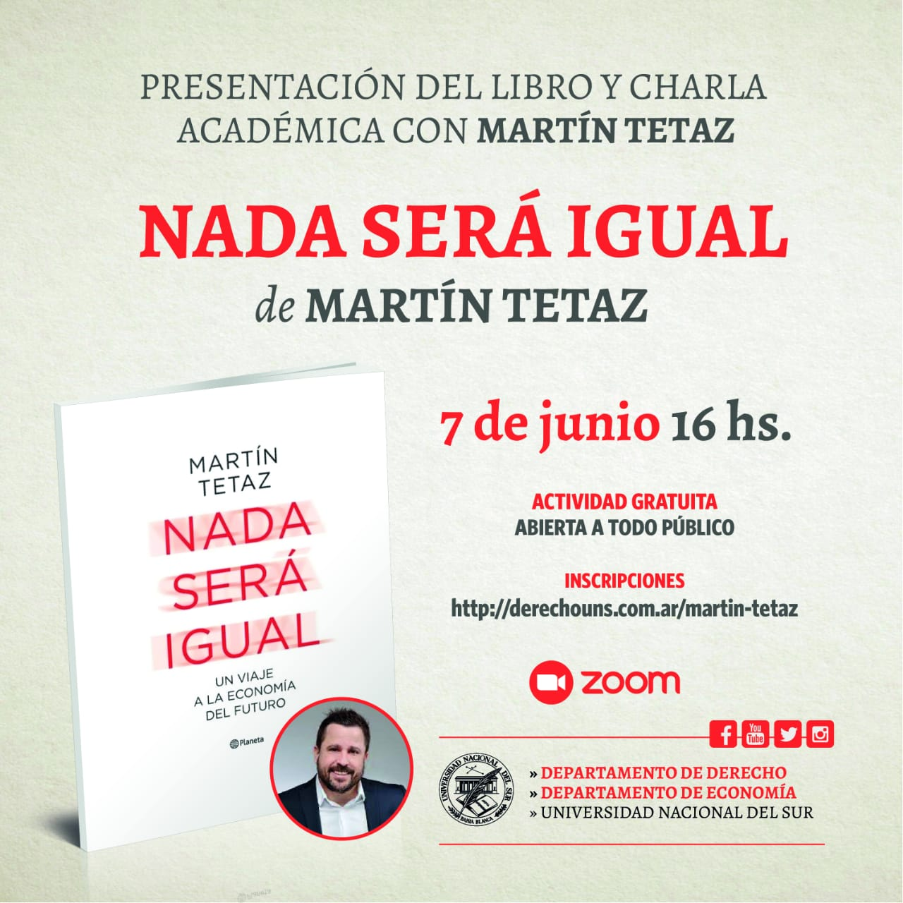 Charla Martin Tetaz-bis