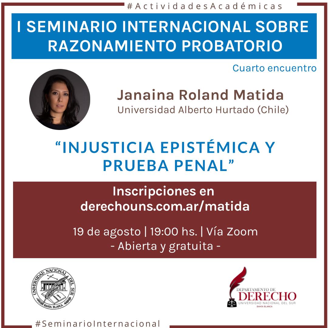Seminario Razonamiento Probatorio-Matida