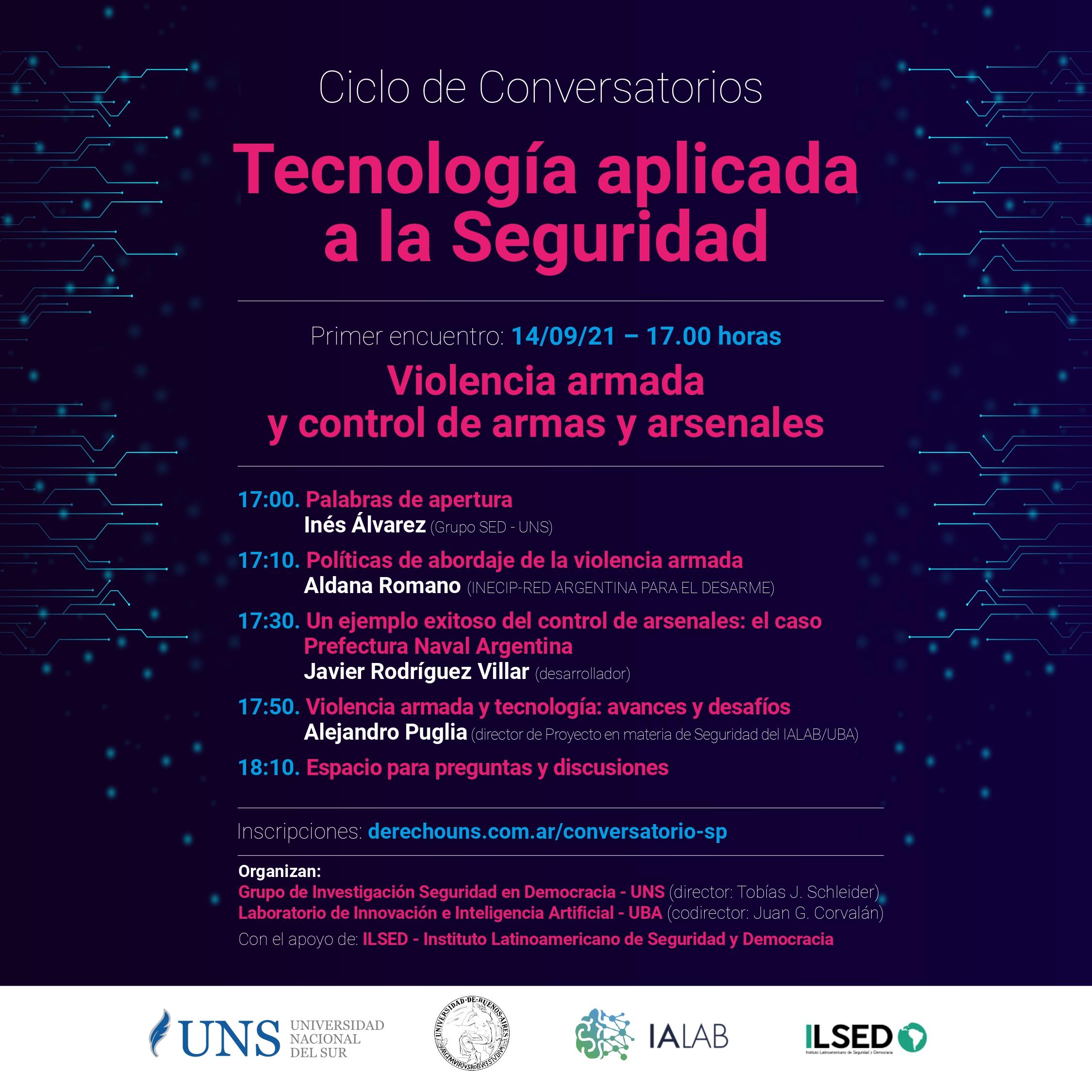 Conversatorio Seguridad & Tecnologia