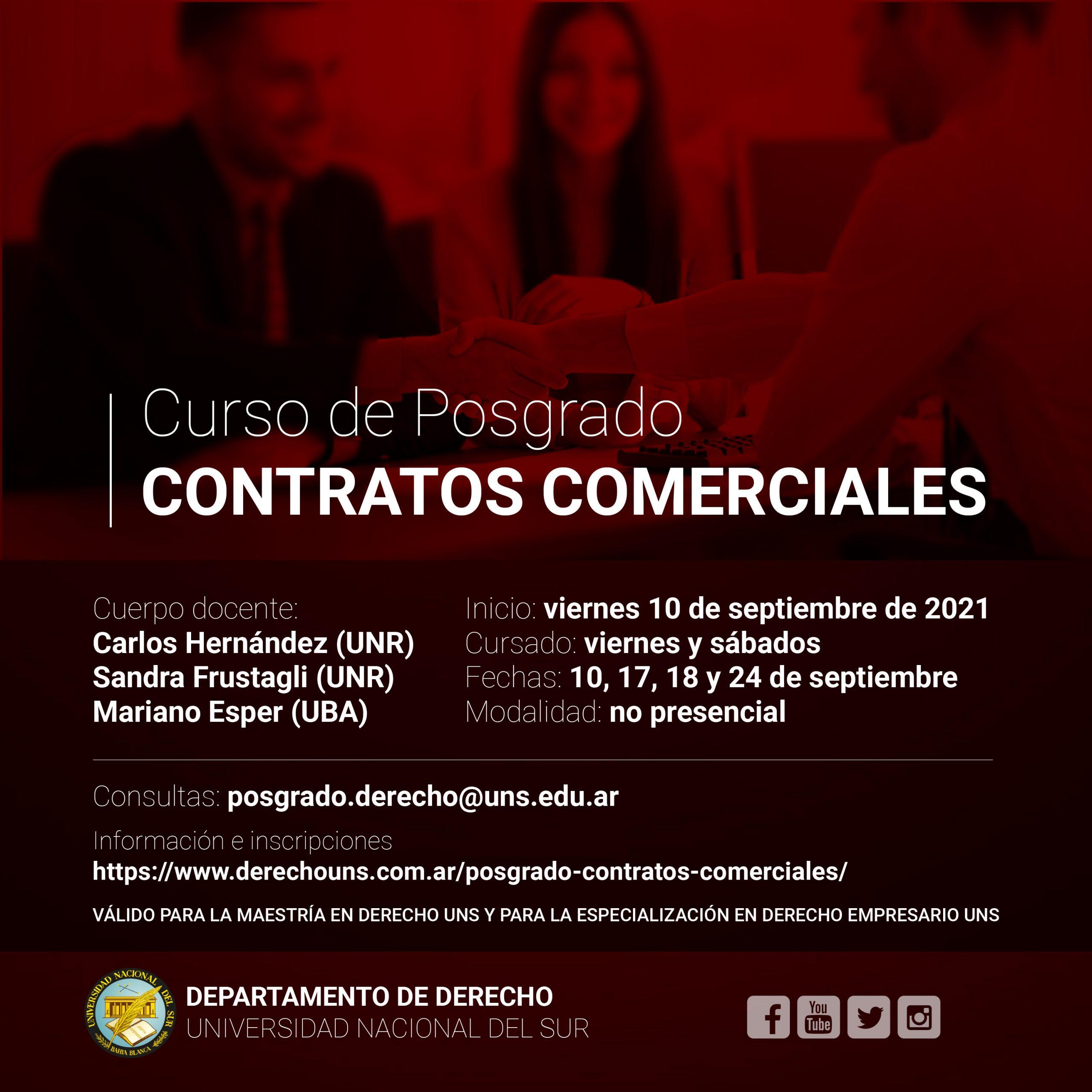 CONTRATOS COMERCIALES