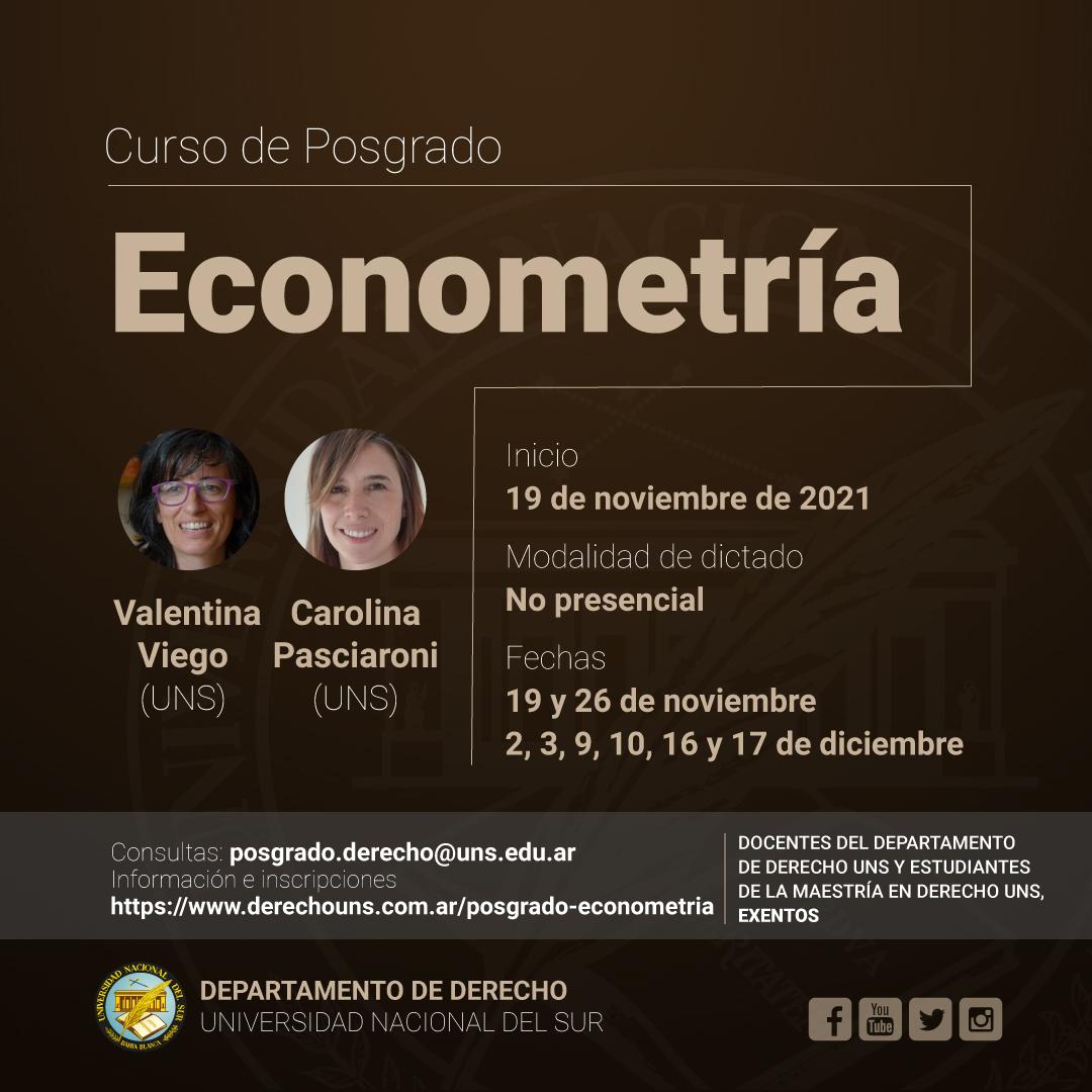 Curso-Posgrado-Econometria